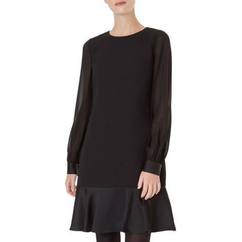 Hobbs London Black Gloria Dress