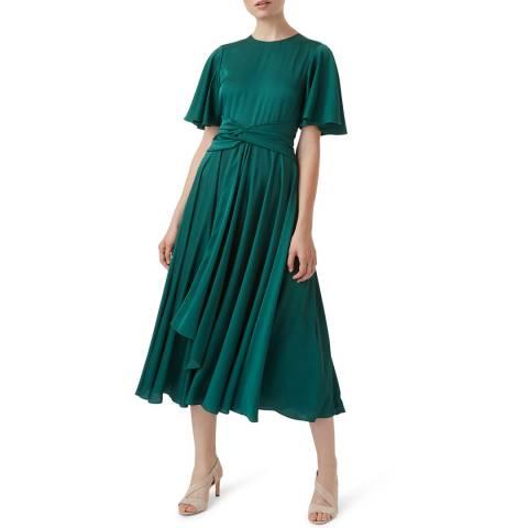 Hobbs London Green Leia Dress