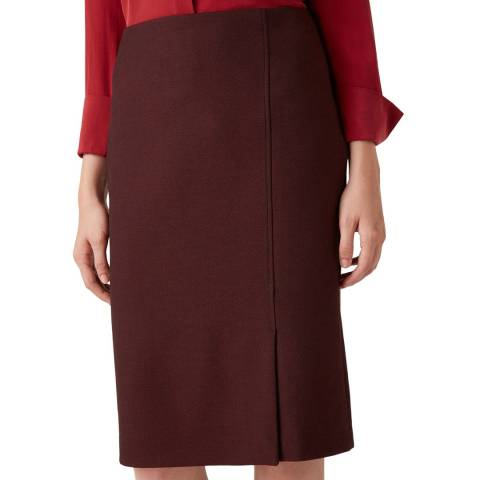 Hobbs London Black Corrine Skirt
