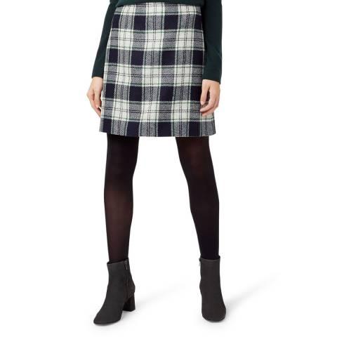 Hobbs London Ivory Elea Wool Skirt