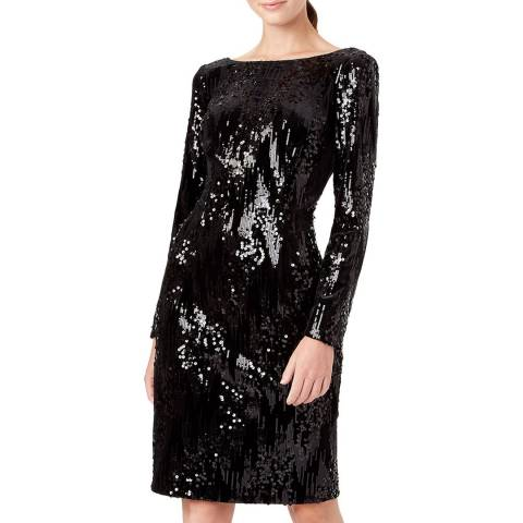 Hobbs London Black Sawyer Dress