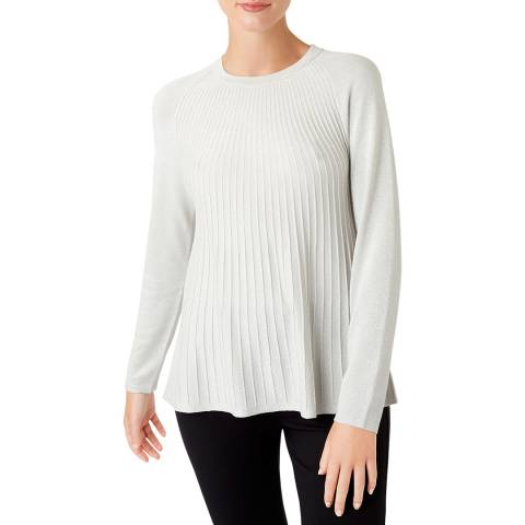 Hobbs London Silver Esme Jumper