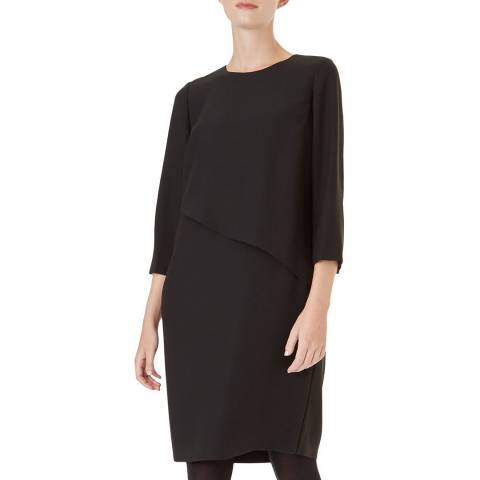 Hobbs London Black Carole Dress