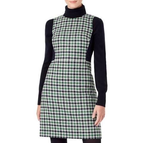 Hobbs London Ivory Rosella Wool Dress