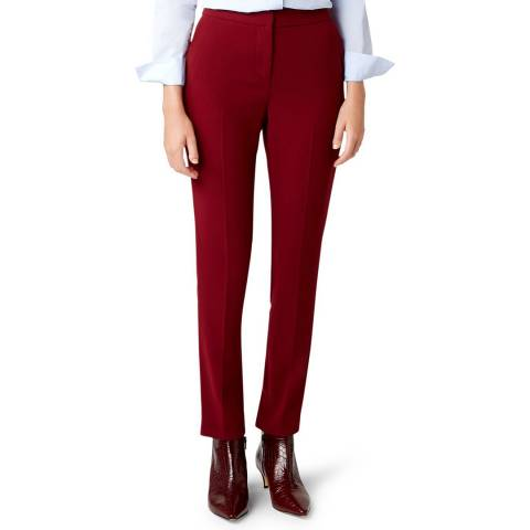 Hobbs London Red Tamsin Trousers