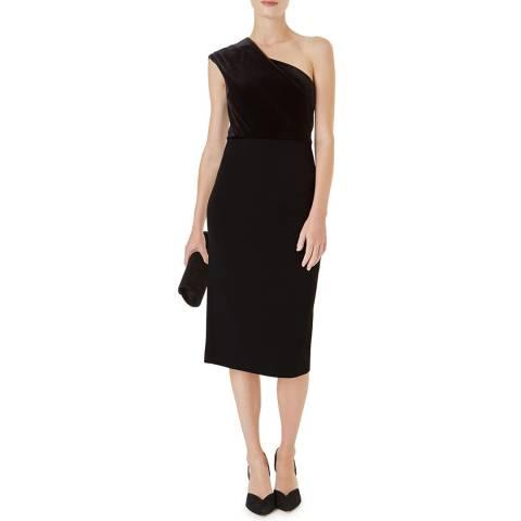 Hobbs London Black Aurora Dress