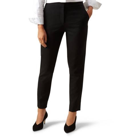 Hobbs London Black Gael Wool Blend Trousers