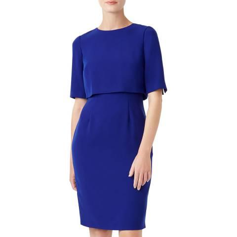 Hobbs London Blue Larissa Dress