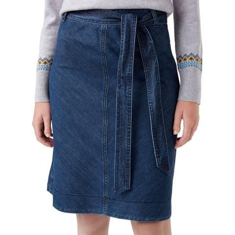 Hobbs London Blue Tori Skirt