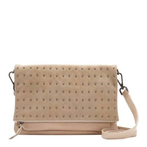 Mint Velvet Holly Camel Stud Leather Bag