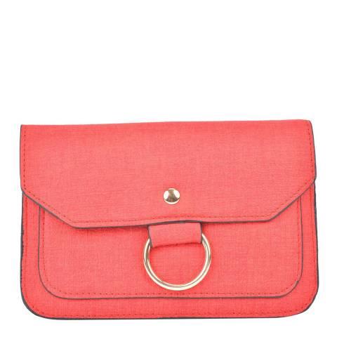 Isabella Rhea Red Crossbody/Clutch Bag