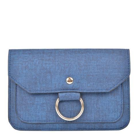 Isabella Rhea Navy Crossbody/Clutch Bag