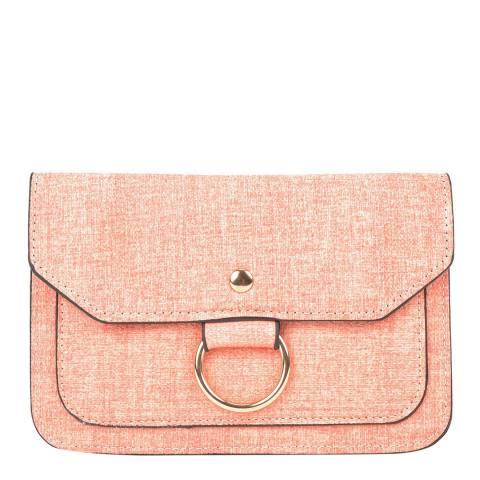 Isabella Rhea Pink Crossbody/Clutch Bag