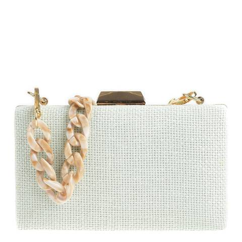 Carla Ferreri Mint Shoulder/Clutch Bag