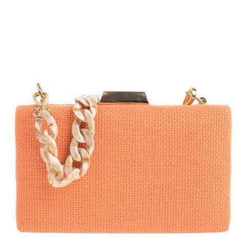 Carla Ferreri Orange Shoulder/Clutch Bag
