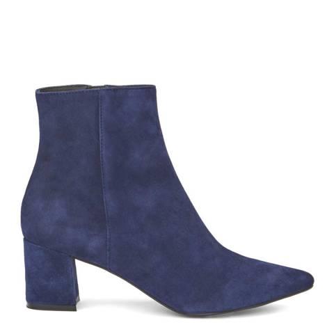 Mint Velvet Navy Suede Olivia Ankle Boots