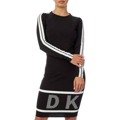 DKNY Black Crew Dress Tee