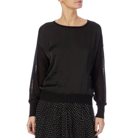 DKNY Black Long Sleeve Jumper