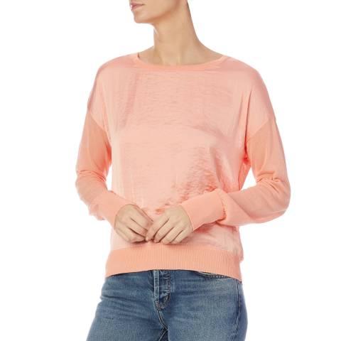 DKNY Pink Long Sleeve Jumper