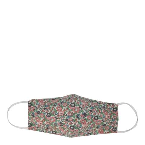 JayLey Collection Pink Cotton Floral Mask