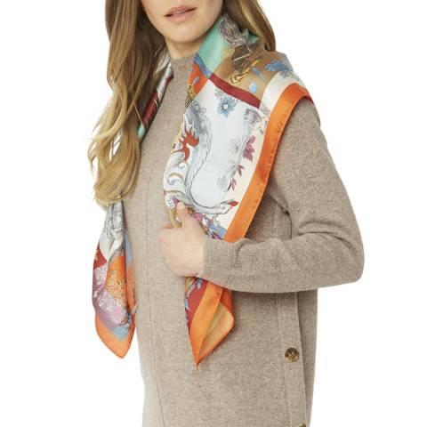 JayLey Collection Multi Silk Blend Scarf