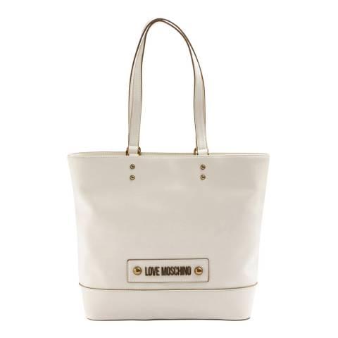 Love Moschino White Basic Shoulder Bag