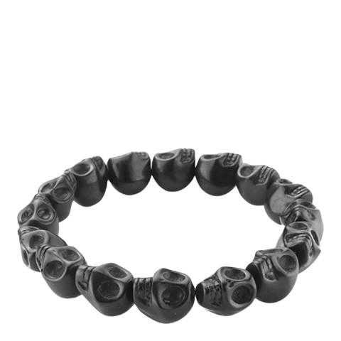 Stephen Oliver Multi Black Skull Bracelet