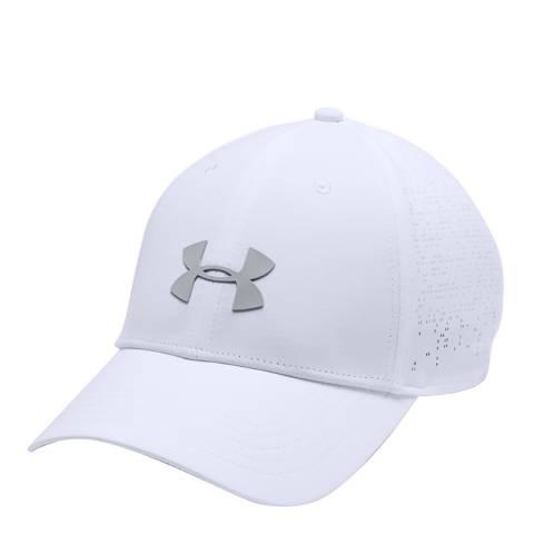 Under Armour Women's White Elevated Golf Cap
