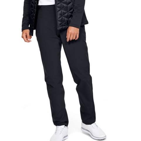 Under Armour Women's Black Golf Rain Trousers