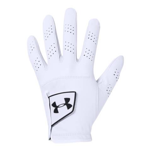Under Armour Men's White Spieth Tour Glove