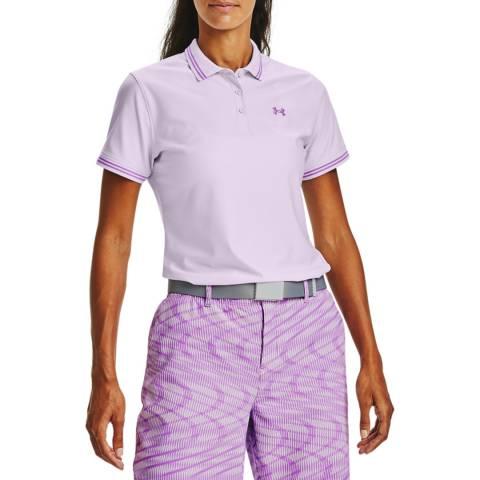 Under Armour Women's Lilac Pique Polo Shirt
