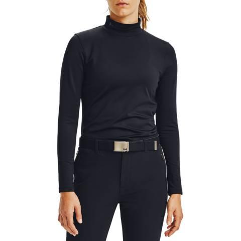 Under Armour Women's Black Long Sleeve Golf Top
