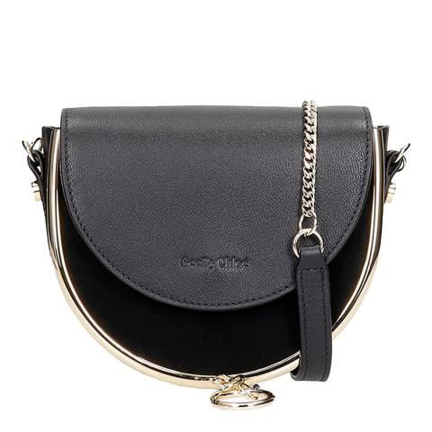 See by Chloe Navy Mara Mini Shoulder Bag