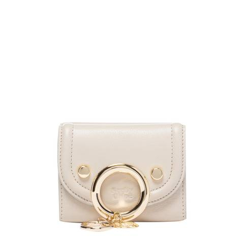 See by Chloe Cream Trifold Mini Wallet