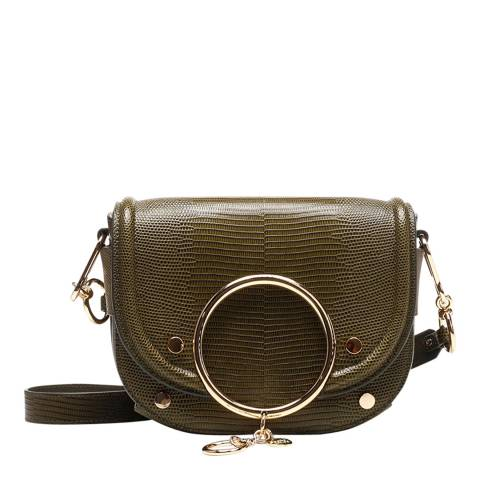 See by Chloe Night Forest Mara Suede Crossbody Bag