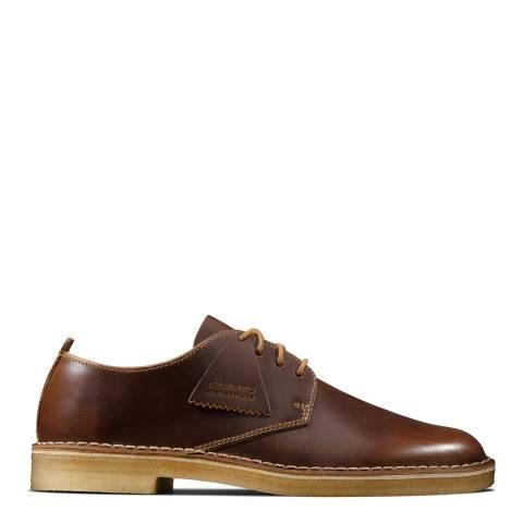 Clarks Tan Leather Desert London Shoes