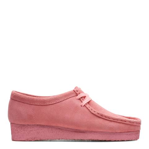 Clarks Originals Bright Pink  Wallabee Moccasin Shoes