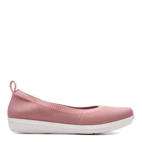 Clarks Pink Ayla Paige Slip On Shoes
