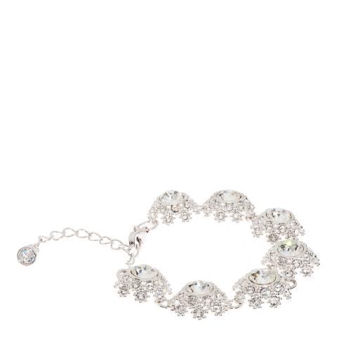 Ted Baker Rhodium Seah Crystal Daisy Lace Bracelet