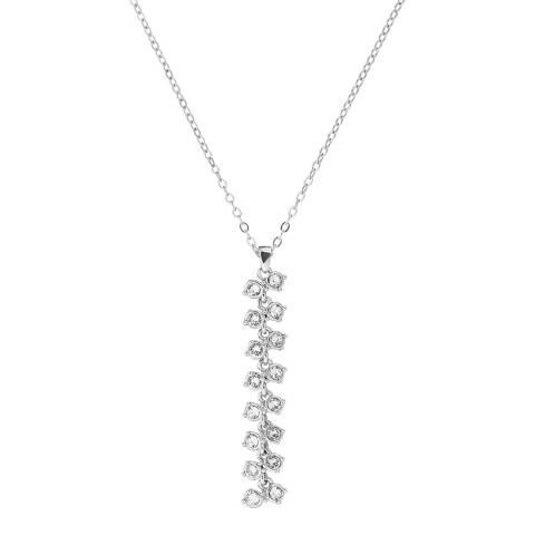 Ted Baker Rhodium Eirra Princess Sparkle Pendant Necklace