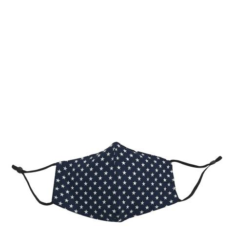 JayLey Collection Navy/White Star Face Mask