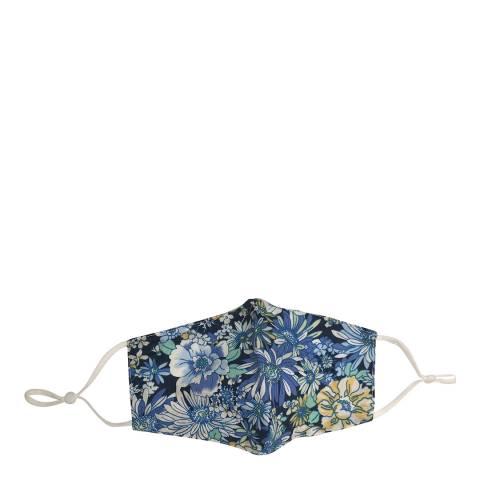 JayLey Collection Blue Floral Cotton Face Mask