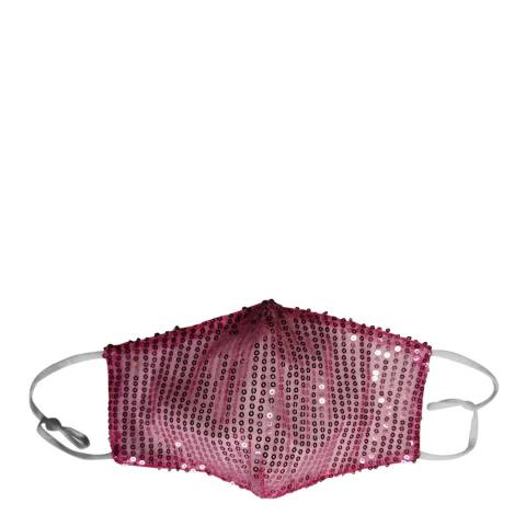 JayLey Collection Pink Sequin Face Mask