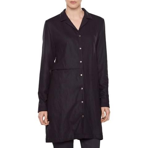 SARAH PACINI Long jacket – straight fit