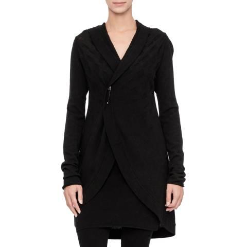 SARAH PACINI Long cardigan – matching pin