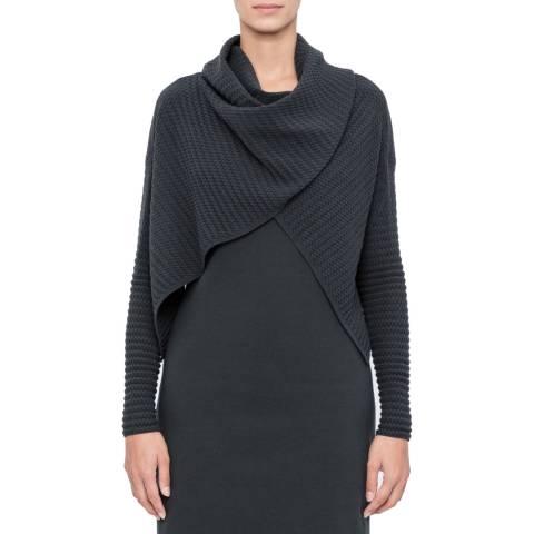 SARAH PACINI Short cardigan – shawl collar