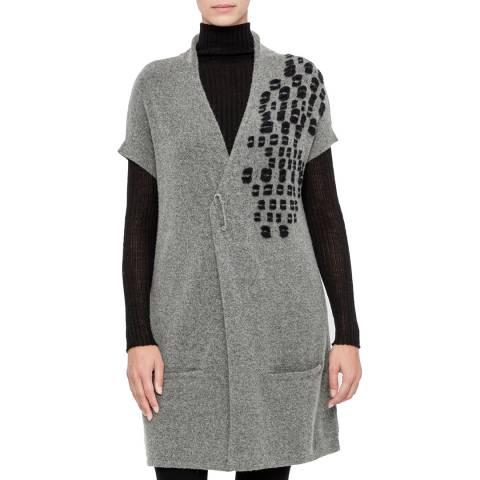 SARAH PACINI Wool cardigan – intarsia