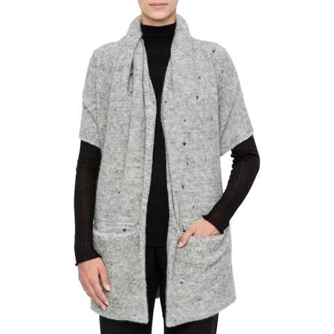 SARAH PACINI Long sleeveless cardigan