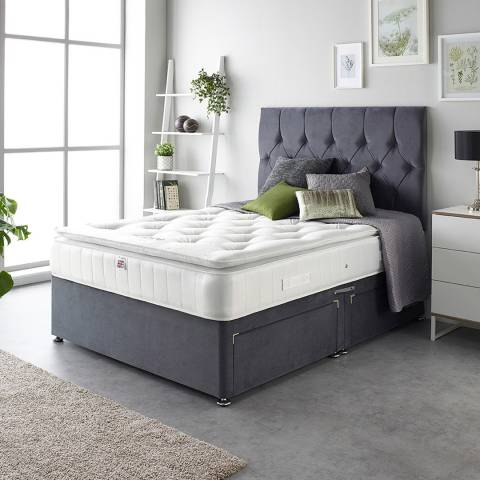 Aspire Furniture Natural Cashmere Pillowtop Mattress Super King