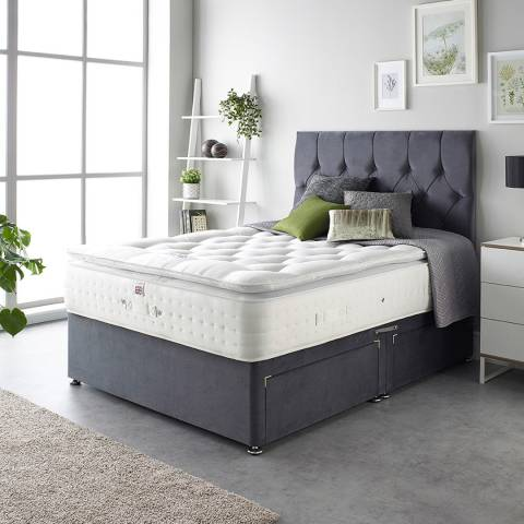 Aspire Furniture Cashmere 1000 Pocket Pillowtop Mattress King
